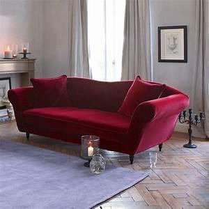 Fauteuil Velours Lipstick : canap baroque rouge trendy fauteuil with canap baroque ~ Zukunftsfamilie.com Idées de Décoration