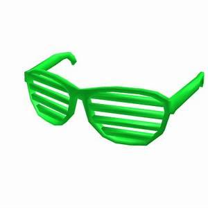 Neon Green Shuttershades Roblox