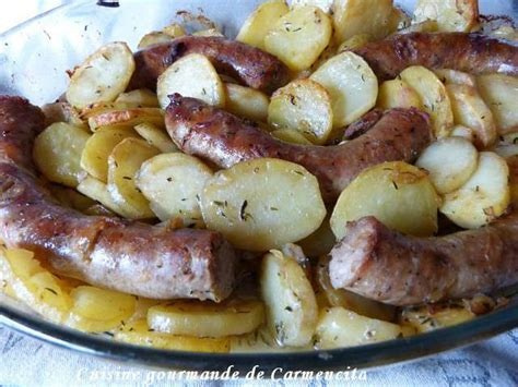 cuisine gourmande recettes de saucisse de cuisine gourmande de carmencita