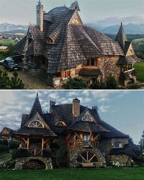 What S A Cottage House by Wooden Cottage Tatra Mountains Poland Houses In 2019