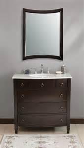 30 Inch Bathroom Vanity by 36 Quot Fina Vanity Transitional Style Vanity Espresso