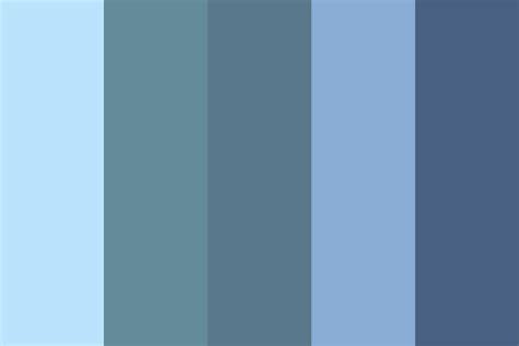 steel color blue steel color palette