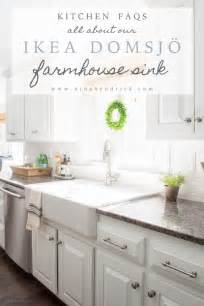 kitchen faucet installation ikea farmhouse sink review domsjo hendrick design co