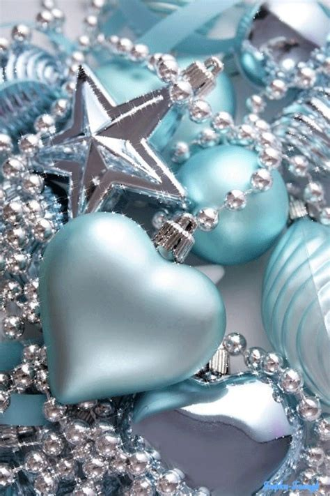 light blue christmas ornaments pictures photos and