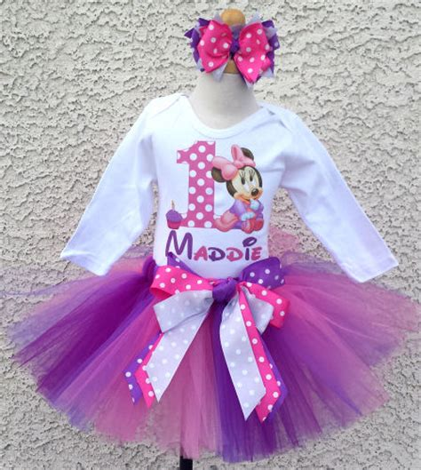 Minnie Mouse 1st Birthday Party Supplies Outfit