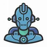 Robot Icon Avatars Diversity Icons Ico Sizes