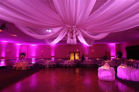 Drape Decoration - decor boston event lighting
