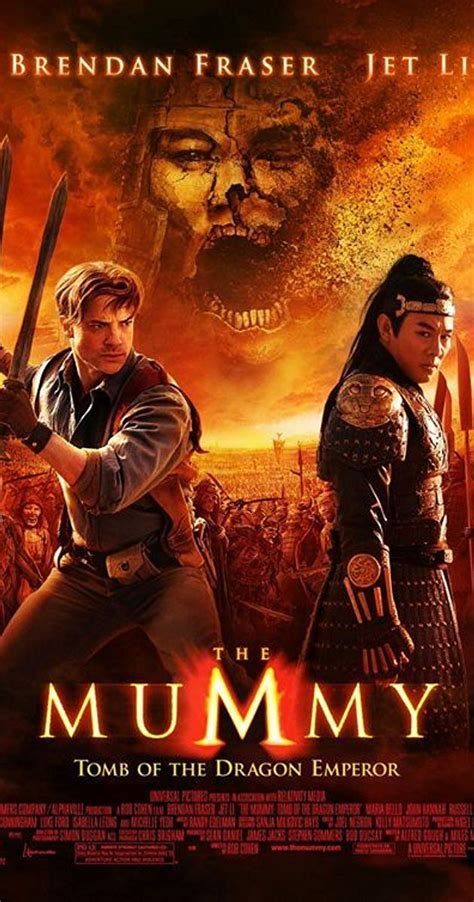 name of actress in the mummy movie the mummy tomb of the dragon emperor 2008 full cast