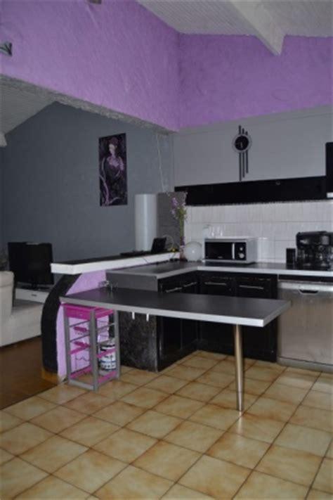 cuisine ouverte sur salle à manger et salon notre cuisine 6 photos papillondemai