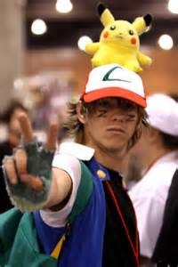 Pokemon Ash Ketchum Cosplay