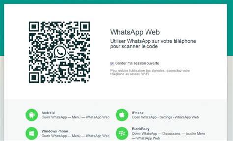 whatsapp web est maintenant disponible sur iphone