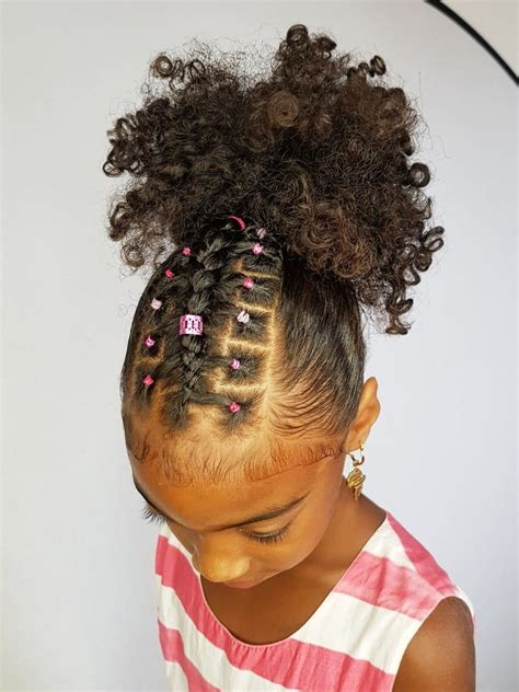 Kid Ponytail Hairstyles by Ponytail With A Twist Hairstyles For Curly