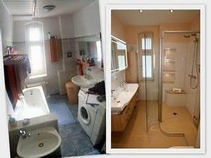 Bad Vorher Nachher : vor der sanierung war dieses badezimmer eher unaufger umt stauraum war mangelware diese ~ Markanthonyermac.com Haus und Dekorationen