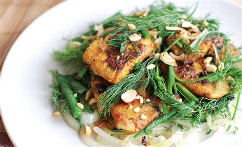 ca cuisine chả cá thăng fish with turmeric dill