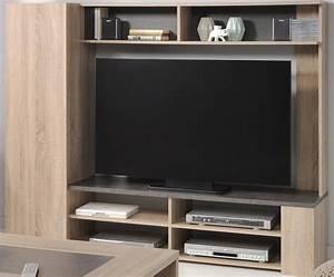 Tv Wand Kaufen : wohnzimmer fumio 4 eiche natur nachbildung steinoptik tv wand tisch kaufen bei vbbv gmbh co kg ~ Watch28wear.com Haus und Dekorationen