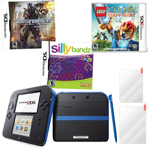 Lava L Speakers Walmart by Nintendo 2ds Blue Bundle With 3 Screen Pro Tvs