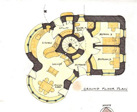 two small house plans links mud and wood