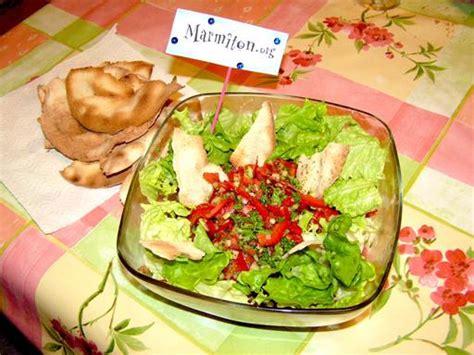 recettes cuisine libanaise fattouche salade libanaise recette de fattouche
