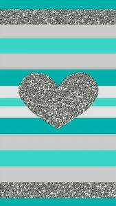 Teal Glitter Wallpapers