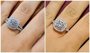 wedding rings engagement ring and wedding band don39t fit With engagement and wedding rings that fit together