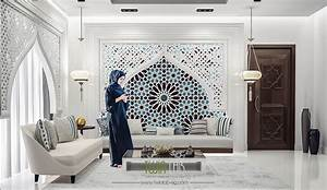 Modern, Islamic, Interior, Design, On, Behance