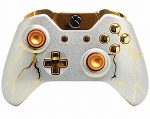 QuotGOLD THUNDERquot XBOX ONE MODDED CONTROLLER