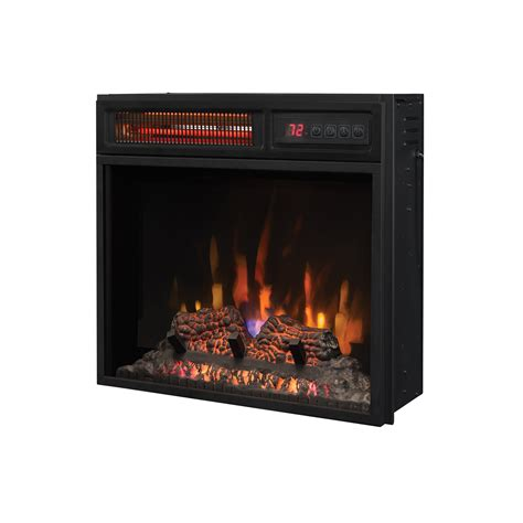 18 Inch Electric Fireplace Insert 23 Inch Infrared Quartz