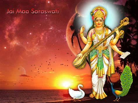 Animated Goddess Saraswati Wallpaper - maa saraswati hd wallpapers hindu god hd wallpapers