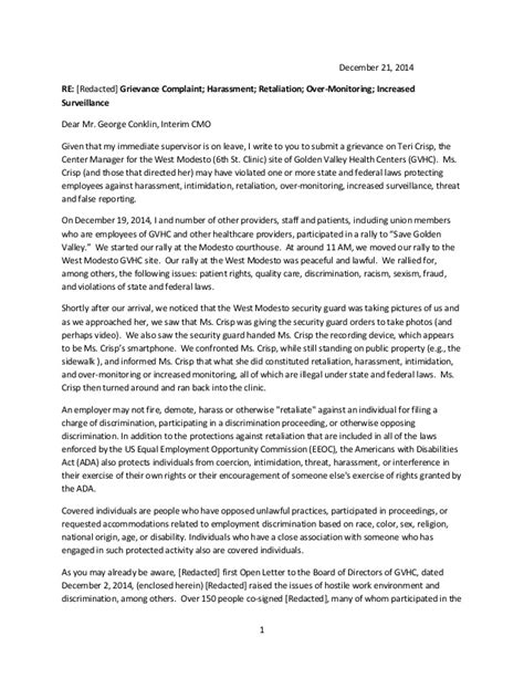 sle complaint letter to human resources about manager sle complaint letter human resources manager 24561