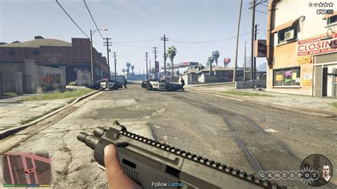 First Person Shooting In Gta 5