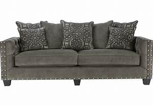 Cindy Crawford Home Sidney Road Gray Sofa - Sofas (Gray)