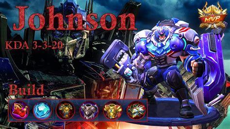 Johnson Mvp, Here I Cooome!!! Best Tank