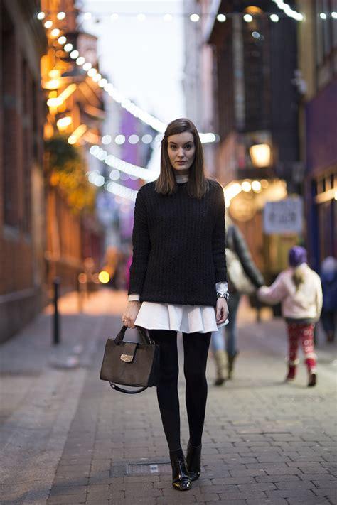 effortless fall skirt outfit ideas    rock