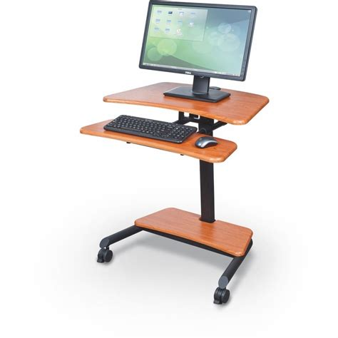 adjustable sit stand desk up rite workstation height adjustable sit stand desk