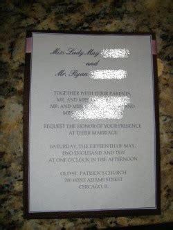 wedding invitation ryan