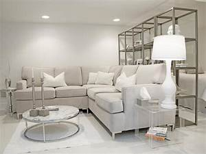 Elegant Grey and White Living Room — Incredible Homes