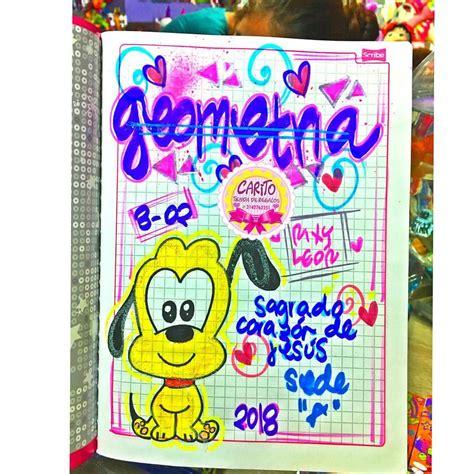 Temporada Escolar 2018💝🌈💙 💖Marcamos Tus Cuadernos Con