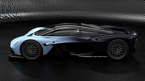 aston martin hints at two tone option for valkyrie hypercar