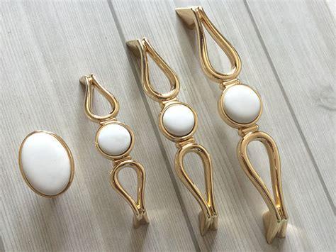 white gold drawer pull handles dresser pulls