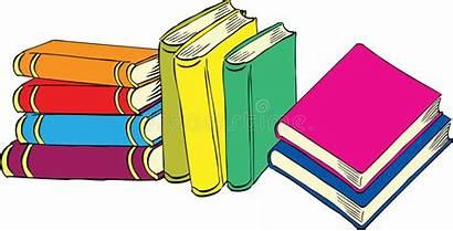 Books Nine Cartoon Neun Different Nove Libri