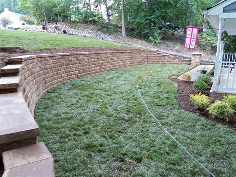 Home Depot Front Yard Design by Landscape Blocks Landscaping Bricks Home Depot Cinder