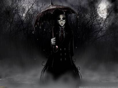 Gothic Dark Wallpapers Goth Anime Creepy Scary