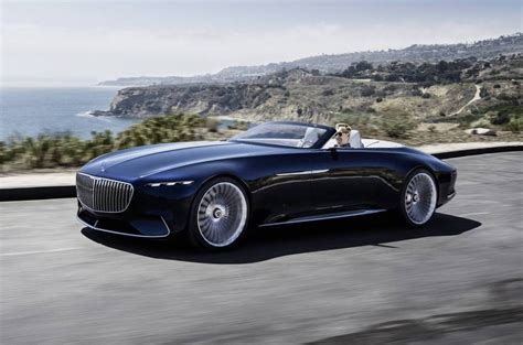 Vision Mercedes-maybach 6 Cabriolet Is One Stunning Drop