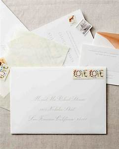 wedding invitation envelope etiquette gangcraftnet With addressing wedding invitations one envelope etiquette