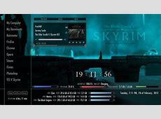 Skyrim Rainmeter Suite v2 by Axerron on DeviantArt