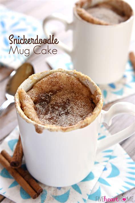 snickerdoodle mug cake sams kitchen
