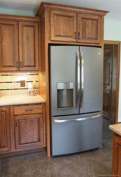 kitchen cabinets refrigerator panels valance archives village home stores