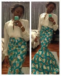 African Mermaid Skirt