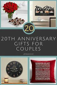 20th anniversary gift ideas for a couple gift ftempo With gift ideas for wedding anniversary