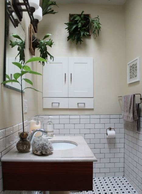bathroom design ideas  plants  flowers ideal